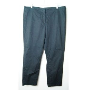J. JILL Black Ankle Pants